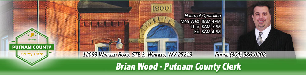 Brian Wood - Putnam County Clerk
